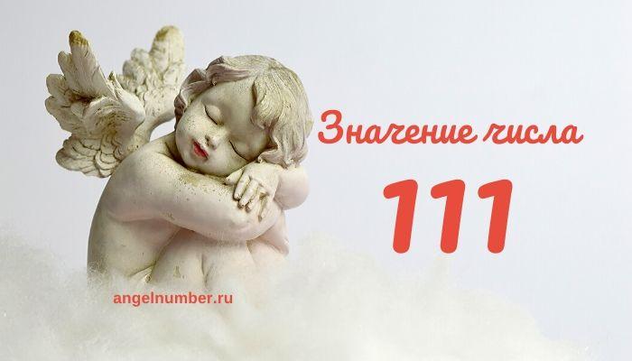 111 значение числа