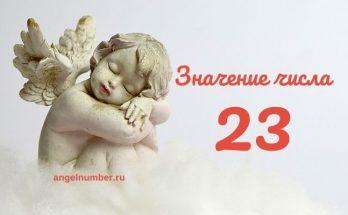 23 значение числа в Ангельской нумерологии