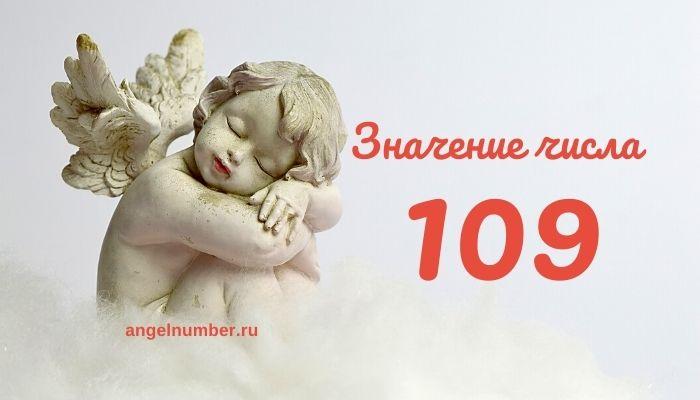 значение числа 109