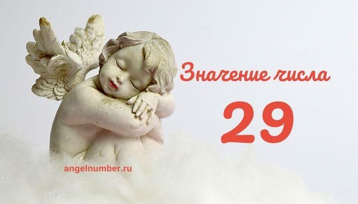 значение числа 29
