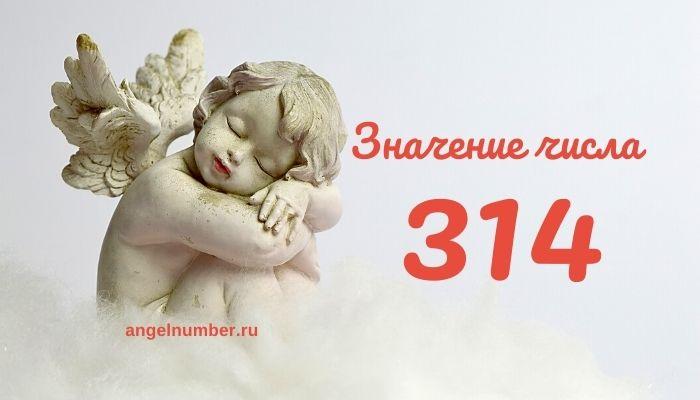значение числа 314