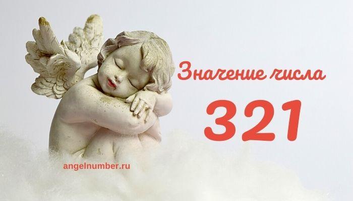 значение числа 321