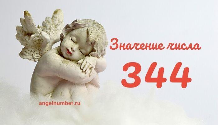 значение числа 344