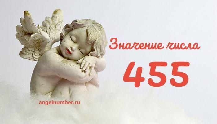 значение числа 455