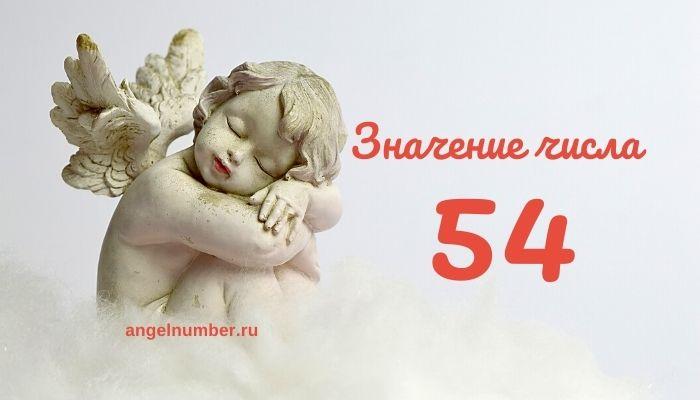 значение числа 54