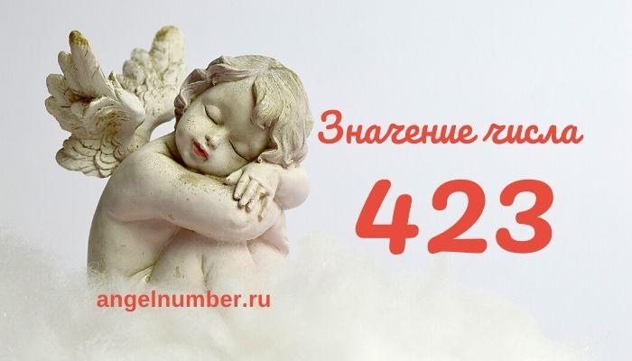 значение числа 423