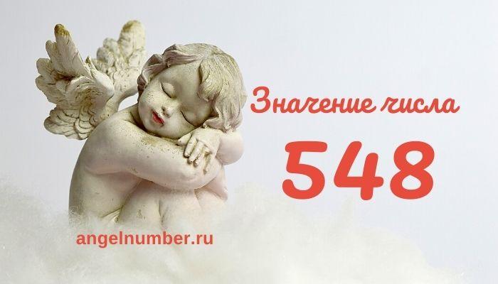 значение числа 548