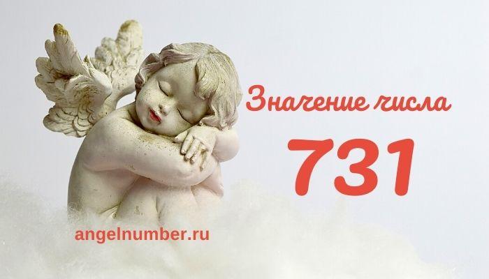 значение числа 731