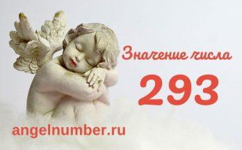 значение числа 293 ангельская нумерология