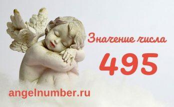 значение числа 495 ангельская нумерология