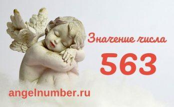 значение числа 563 ангельская нумерология