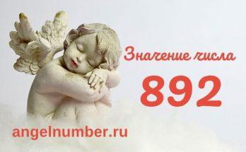 значение числа 892 ангельская нумерология