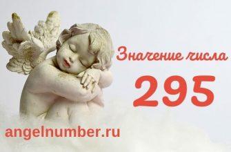 значение числа 295 ангельская нумерология