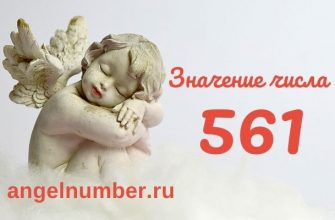 значение числа 561 ангельская нумерология