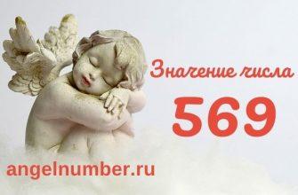 значение числа 569 ангельская нумерология