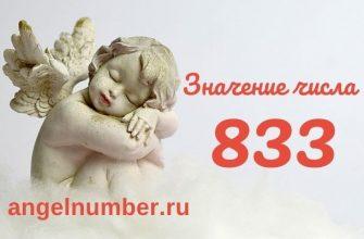 значение числа 833 ангельская нумерология