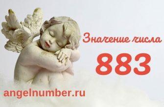 значение числа 883 ангельская нумерология